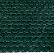 Керамическая черепица Опал Стандарт глазурированный зеленый