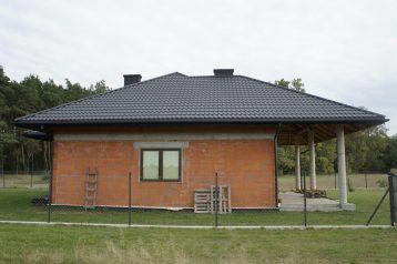 Металлочерепица Словакия черная 9005