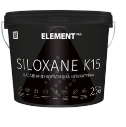 Штукатурка ELEMENT PRO SILOXANE K15