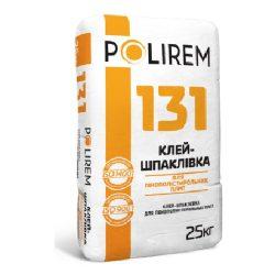 Polirem 131 25кг клей для приклеивания и армирования плит из из пенополистирола