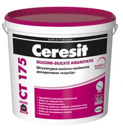 "Штукатурка Ceresit CT-175 силикон-силикатная ""короед"""
