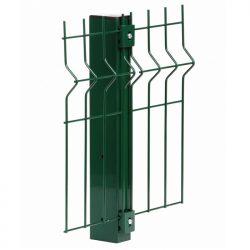 Забор секционый 3D сетка сварная 4*4мм | 1700*2500