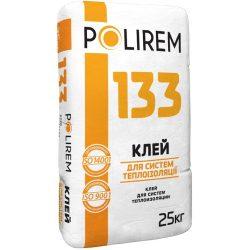 Polirem 133 25кг клей для приклеивания ППС и МВ