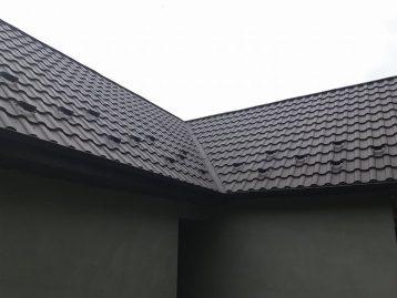 металлочерепица Валенсия Италия черная 9005