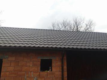 металлочерепица Валенсия Польша графит серая