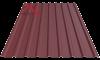 Профнастил пк-20 матовый вишня 3005
