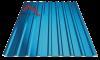 Профнастил пк-20 глянцевый синий 5005