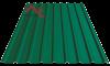 Профнастил пк-20 матовый зеленый 6005