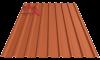 Профнастил пк-20 матовый глина 8004