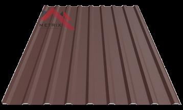 Профнастил пк-20 матовый 8017 коричневый