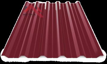 Профнастил пк-35 глянцевый спелая вишня 3005