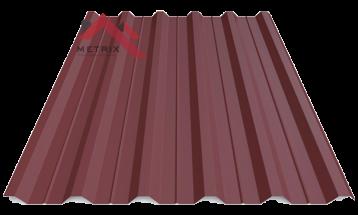 Профнастил пк-35 матовый вишня 3005