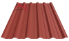 Профнастил пк-35 матовый глиняный 3009