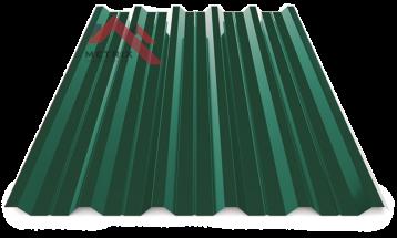 Профнастил пк-35 глянцевый 6005 зеленый