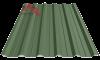 Профнастил пк-35 матовый мохово зеленый 6020