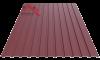 Профнастил пс-10 матовый вишня 3005
