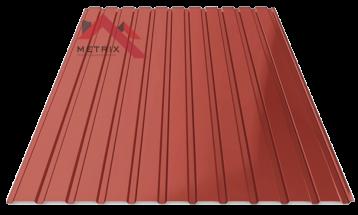 Профнастил пс-10 глянцевый красный 3009