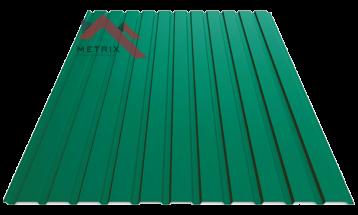 профнастил пс-10 матовый 6005 зеленый