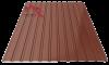 Профнастил пс-10 глянцевый 8017 шоколад