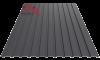 Профнастил пс-10 матовый 9005 черный