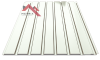 профнастил пс-15 глянцевый белый 9003