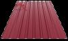 Профнастил пс-20 глянцевый спелая вишня 3005