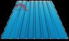 Профнастил пс-20 глянцевый синий 5005