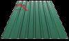 Профнастил пс-20 глянцевый зеленый 6005