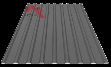 Профнастил пс-20 матовый графит 7024