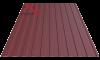 Профнастил пс-8 вишня 3005 матовый