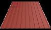 Профнастил пс-8 кирпичный 3009 матовый