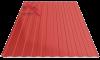 Профнастил пс-8 3011 красный глянцевый