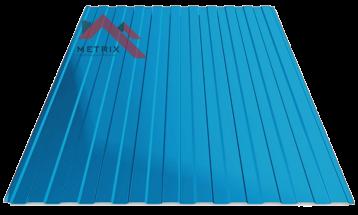 Профнастил пс-8 5005 синий глянцевый