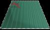 Профнастил пс-8 6005 зеленый глянцевый