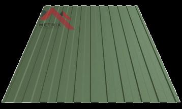 Профнастил пс-8 6020 зеленый матовый