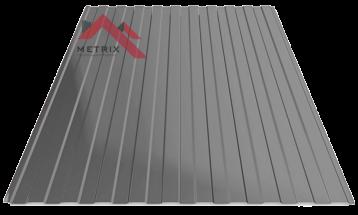 Профнастил пс-8 7024 серый глянцевый