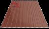 Профнастил пс-8 8017 молочно-коричневый глянцевый