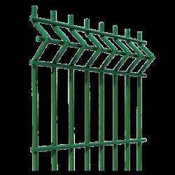 Забор секционый 3D сетка сварная 5*5мм | 1260*2500
