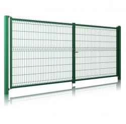 Ворота из сварной сетки 3D | 1730*4000
