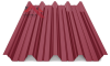 профнастил Н-60 глянцевый гнилая вишня 3005