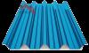 профнастил Н-60 глянцевый синий 5005