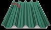 профнастил Н-60 глянцевый зеленый 6005