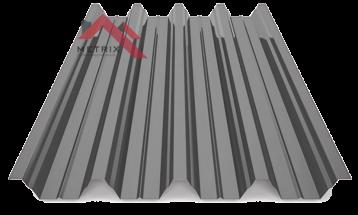 профнастил Н-60 глянцевый серый 7024