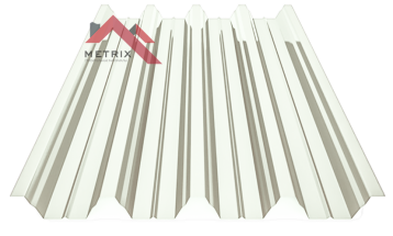 профнастил Н-60 глянцевый белый 9003