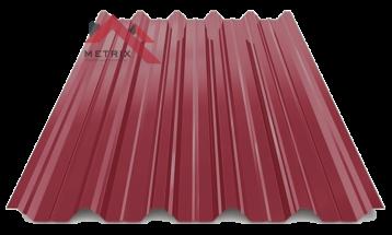 профнастил пк-45 глянцевый вишня 3005