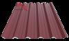 профнастил пк-45 матовый спелая вишня 3005