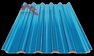 профнастил пк-45 глянцевый синий 5005