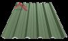 профнастил пк-45 матовый зеленый мох 6020