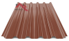 профнастил пк-45 глянцевый молочный-шоколад 8017