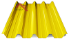 профнастил пк-57 глянцевый желтый 1003